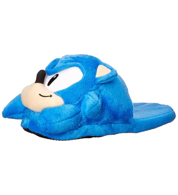 Sonic Hedgehog Head Slippers Size