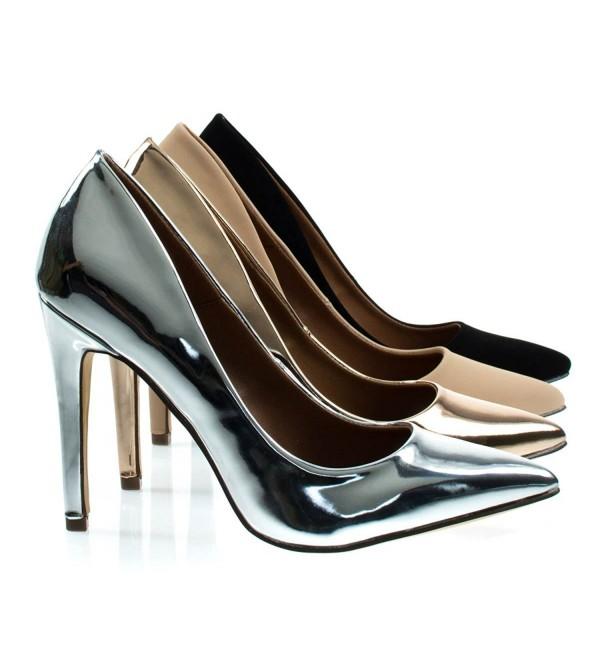 Cadence1 Metallic Classic Pointed Stiletto