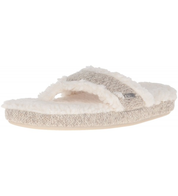 ACORN Womens Slipper Medium 6 5 7 5