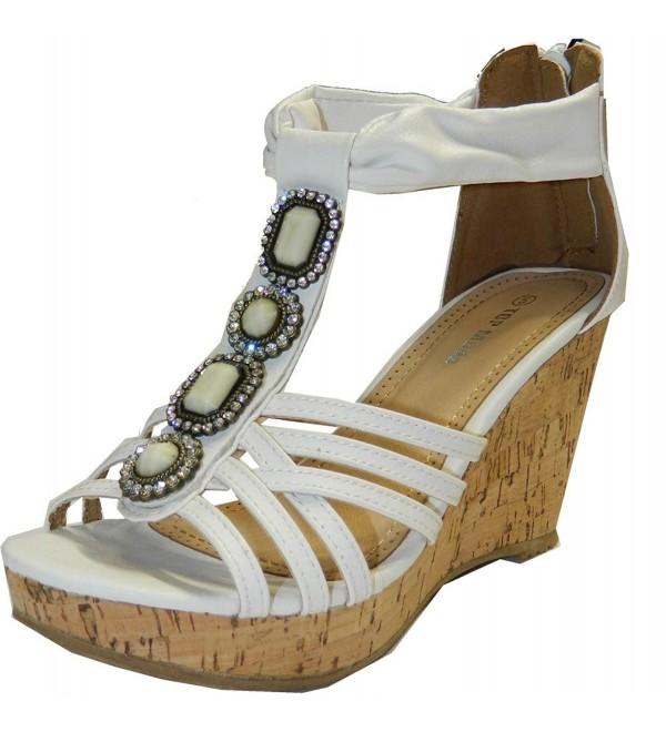 Top Moda Sandals 5 5 White XE5