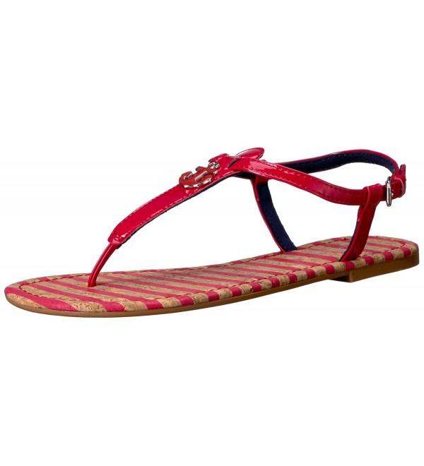 Nautica Womens Fiddle Flat Sandal