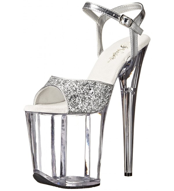 Pleaser FLAM810 SG Platform Metallic