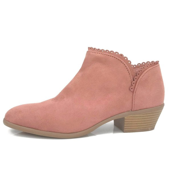 Qupid Kelley Strappy Bootie Chunky