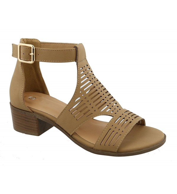 Leather Strappy Sandalias Matching Clearance