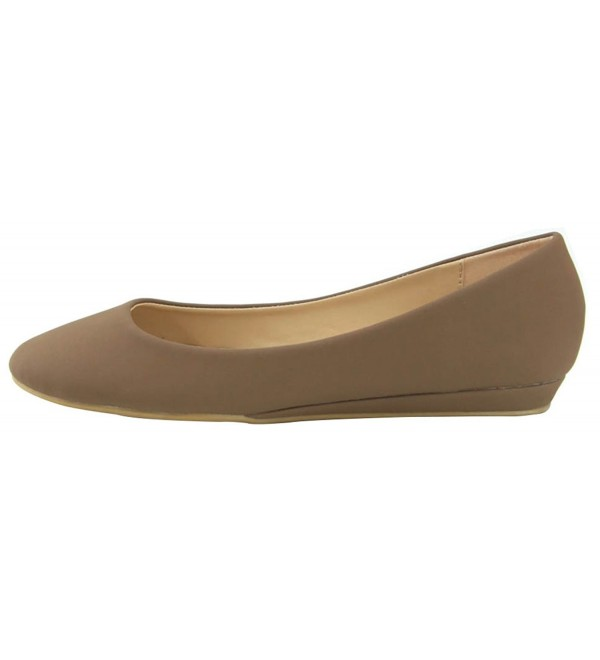 Bella Marie Womens Wrapped Chestnut