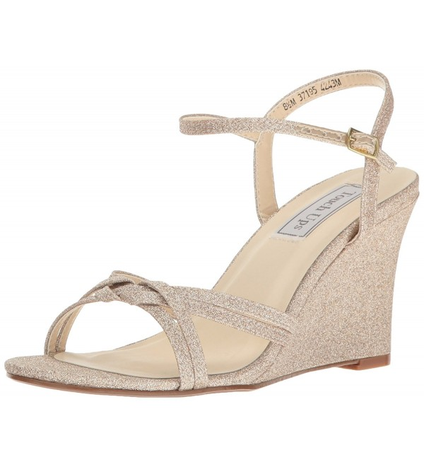 Touch Ups Womens Sandal Champagne