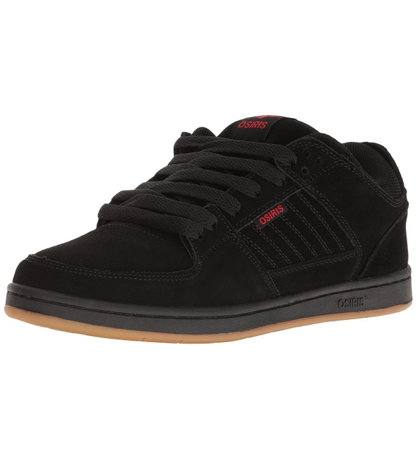Osiris Mens Protocol Skateboarding Black