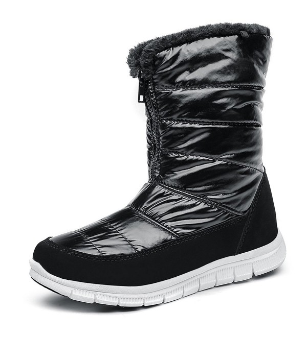 b43aa8186e41 Women s Cold Weather Waterproof Snow Boots for Women Lightweight ...
