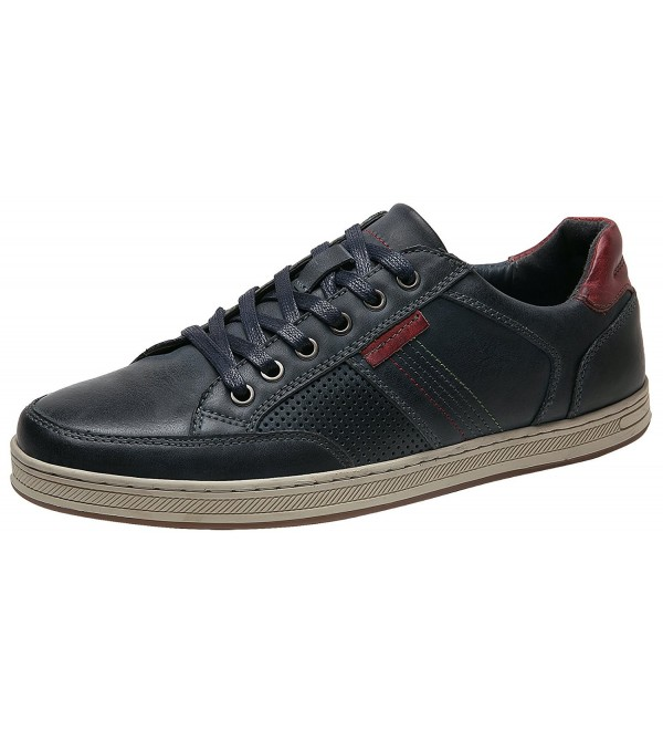 Genuine Leather Breathable Sneakers 10