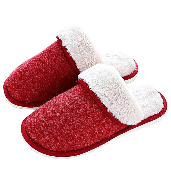 Anddyam Knitted Slippers Breathable Anti Slip