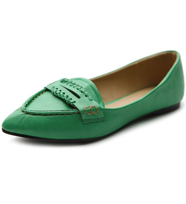Ollio Womens Ballet Pointed Penny