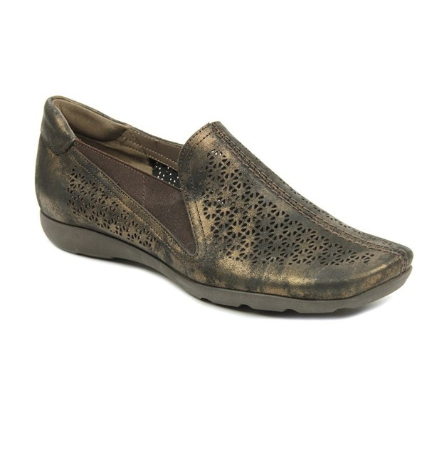 Sesto Meucci Womens Bronze Loafer