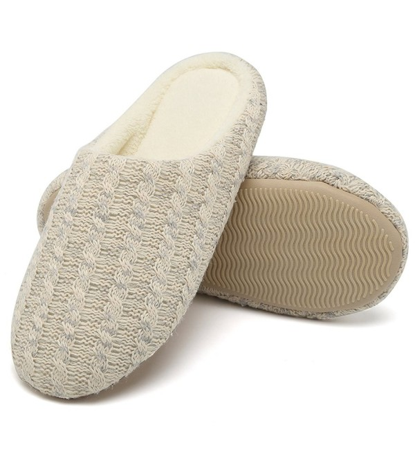 CIOR Slippers Cashmere Anti Slip Breathable