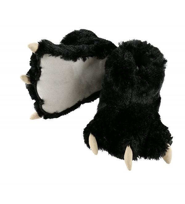 LazyOne Animal Slippers Large Black