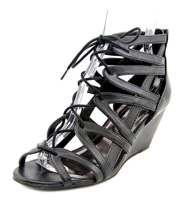 Material Girl Womens Platform Leather