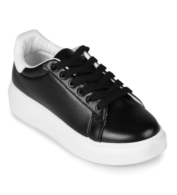 Wanted Chervil Lace Up Platform Sneaker