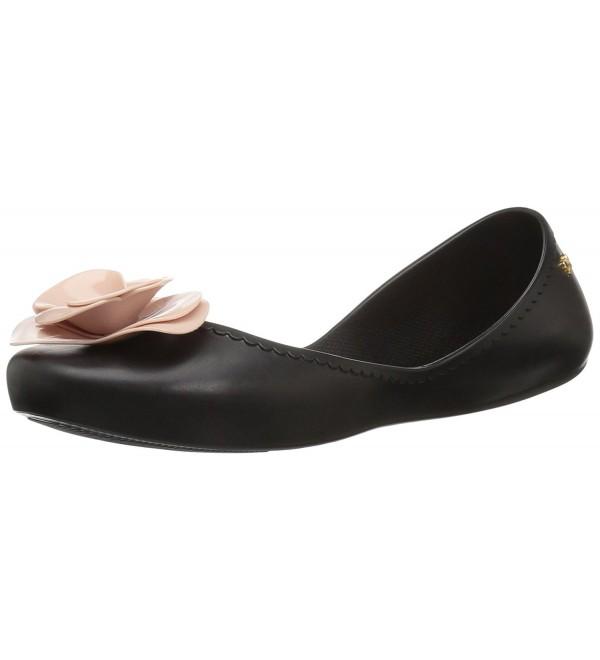Zaxy Womens Start Ballet Black