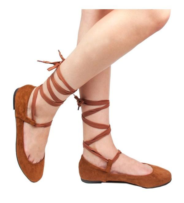 Womens Ankle Ribbon Square Ballet