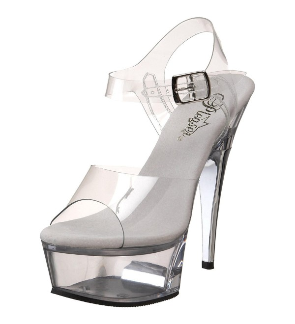 Pleaser Womens CAPTIVA 608 Platform Sandal