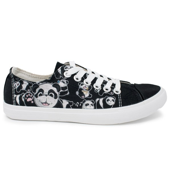 Sneakers Trainer Animal Canvas Tennis