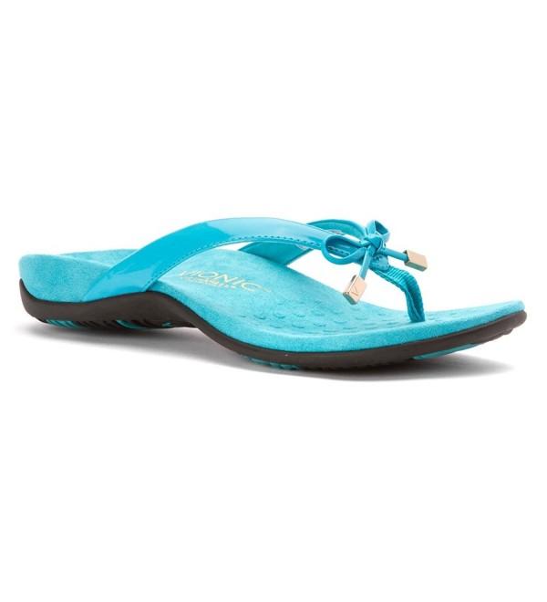 Vionic Womens Bella Sandal Turquoise