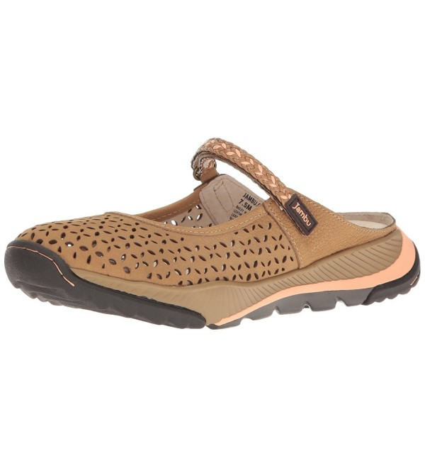 Jambu Womens Bailey Maryjane Taupe