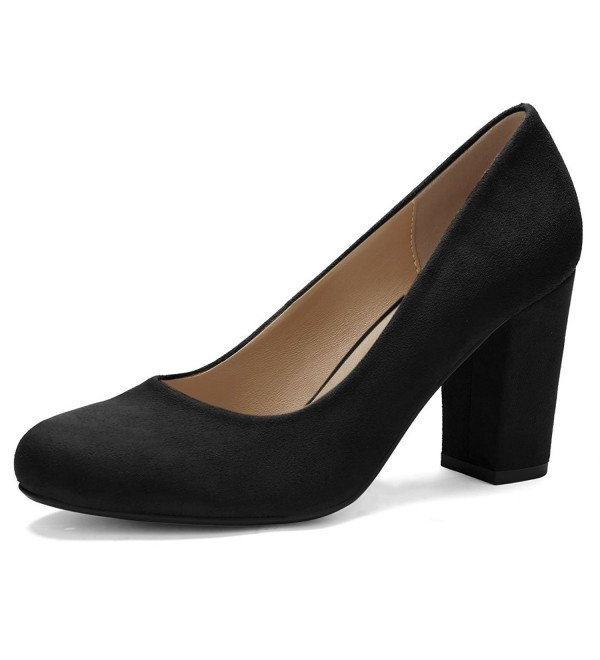 Allegra Womens Rounded Block Classic