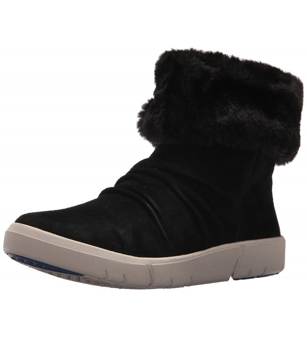 BareTraps Womens Bette Snow Black