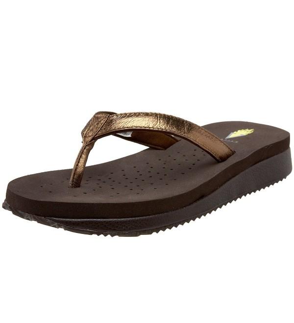 Volatile Womens Energy Sandal Bronze