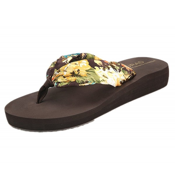 ANBOVER Womens Floral Slippers Bohemia