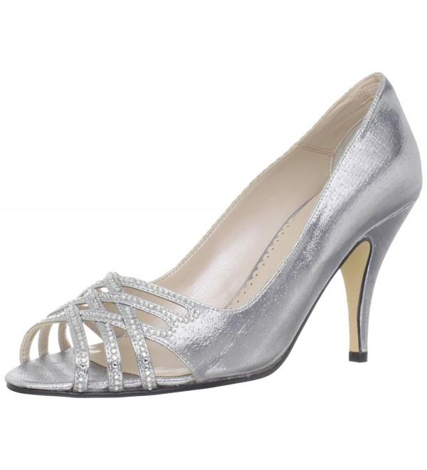 Caparros Womens Charmaine Open Toe Silver