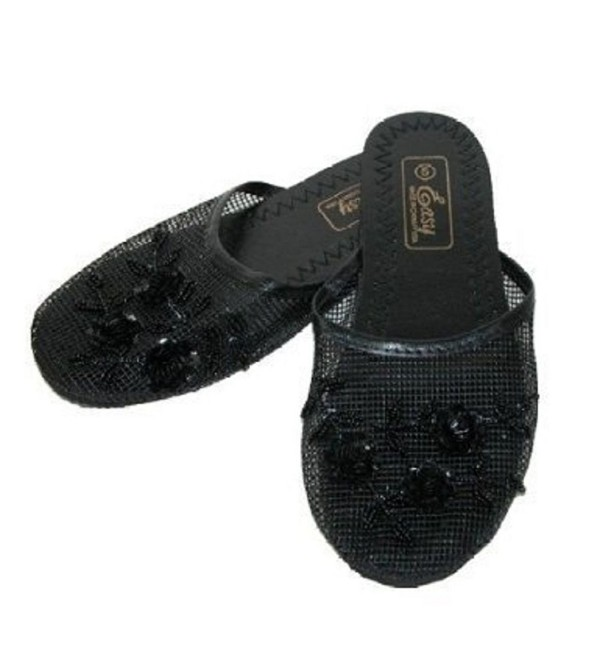Easy USA Womens Slippers Sequin