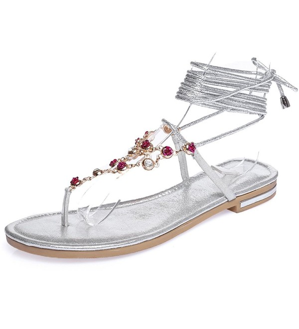 ShoeN Tale Rhinestones Gladiator Sandals