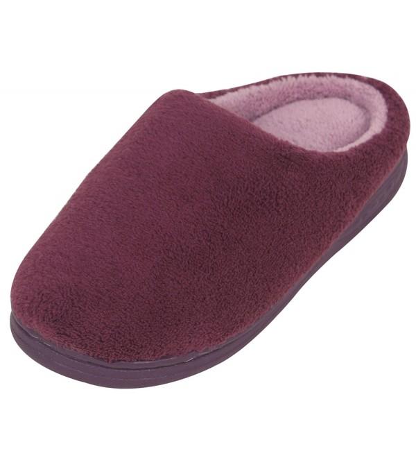 AMENITIES DEPOT Womens Comfort Slippers