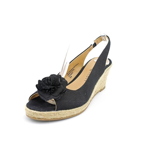 Karen Scott Womens Platform Sandals