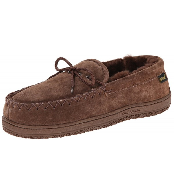 Old Friend Mens Moccasin Brown