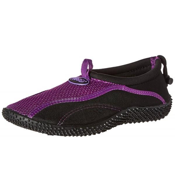 TECS Womens Aquasock Water Purple