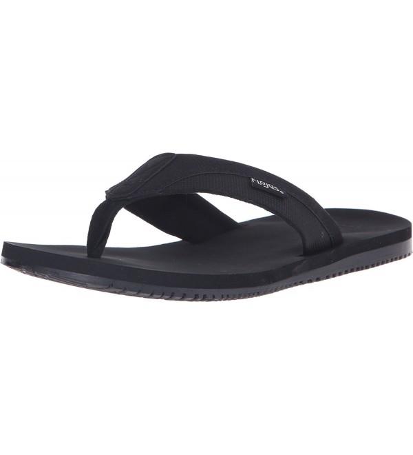 Flojos Mens Rico Black Sandal