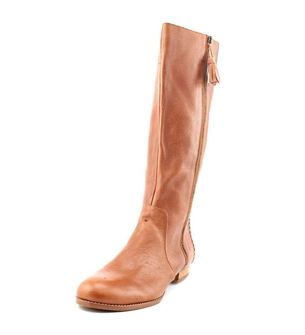 Falchi Womens Leather Fashion Knee High