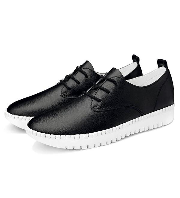 MOLECOLE Fashion Sneaker Leather Platform