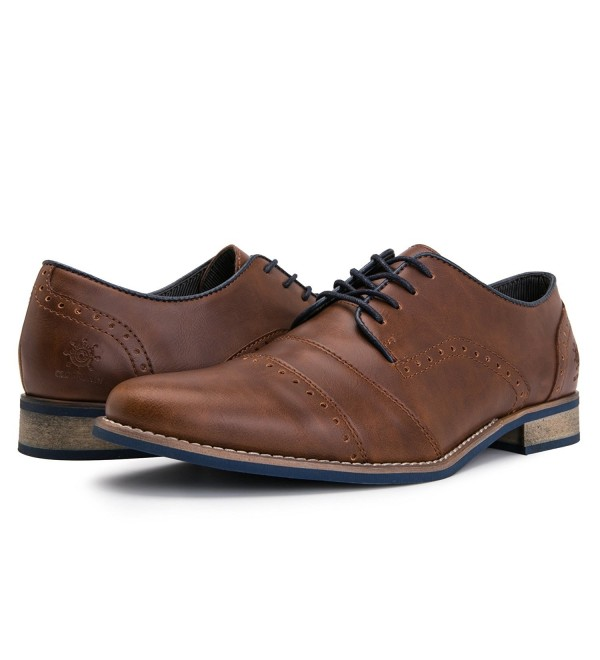 16553 Mens Modern Oxford 55brown