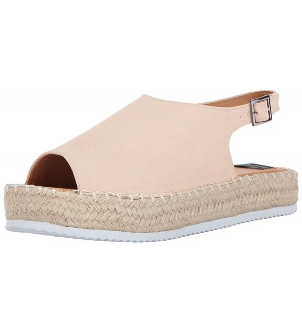 N Y L Womens Truslide Platform Sandal