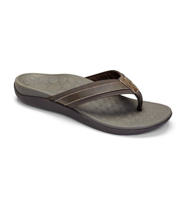 Vionic Orthaheel Technology Sandal Brown