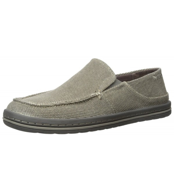 Simple Dare Slip Shoes Brown