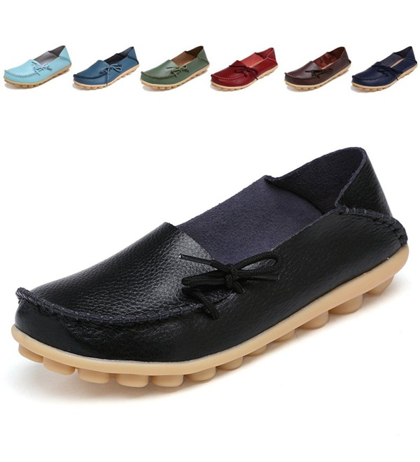 LUUB Loafers Genuine Leather Slippers