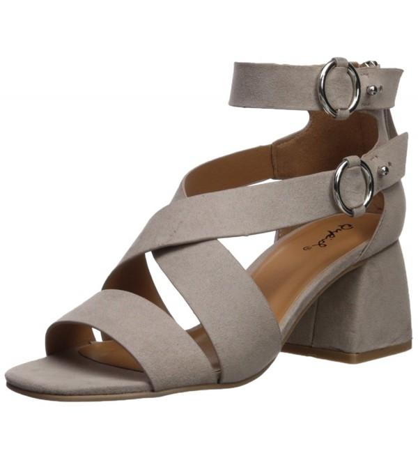 Qupid Womens Cray 06 Heeled Sandal
