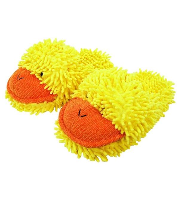 Fuzzy Friends Duck Slipper Yellow