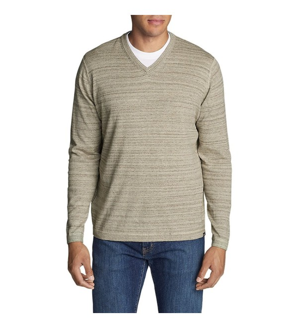 Eddie Bauer V Neck Sweater Regular