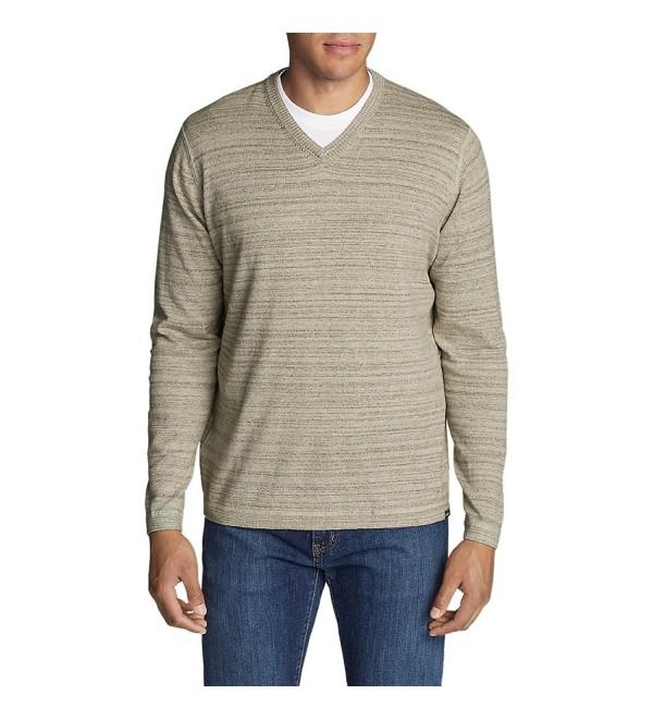 Eddie Bauer V Neck Sweater Regular