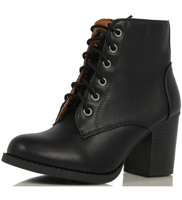 Soda Womens Korman Leather Booties